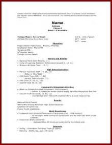 Sample Resume For Scholarship Resume College Scholarships