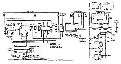 5000 watt generator product wiring diagrams wiring