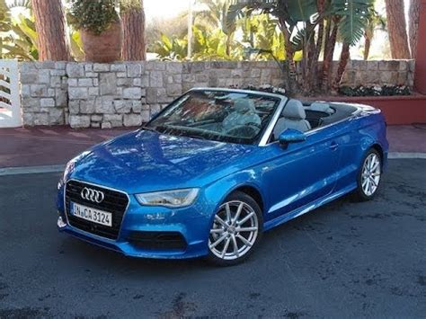 audi  cabriolet review youtube