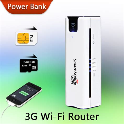 power bank 3g wifi router new arrival mobile portable multifunctional mini wireless