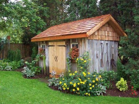 pretty garden shedgarage pinterest