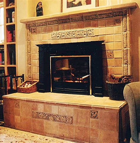 Fireplace Hearth Designs tile restoration center american arts and crafts tiles ernest batchelder and claycraft
