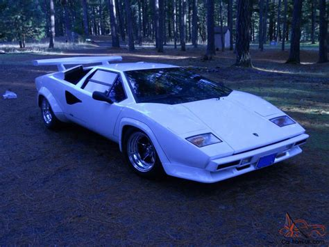 lamborghini countach replica 1985 lamborghini countach replica tube frame v8 manual