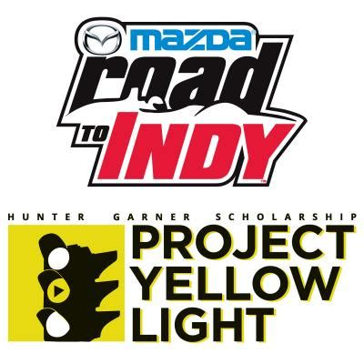 mazda road to indy joins project yellow light | inside mazda