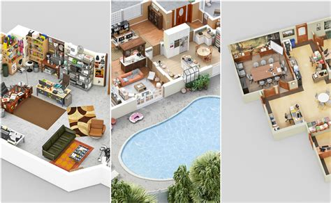 Floor Plan To 3d Software For Website parks and rec suits and silicon valley see 7 offices