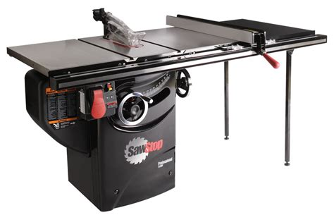 table saw sawstop professional cabinet tablesaw pcs