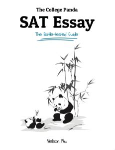 the college panda s sat writing advanced guide and workbook for the new sat our books without the fluff the