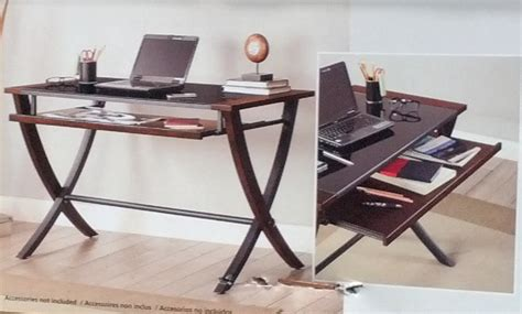 bayside furnishings nalu office computer desk with slide