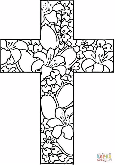 coloring pages for adults crosses religious quotes coloring pages quotesgram