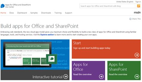 Apps For Office by Develop Apps For Microsoft Office From Your Browser