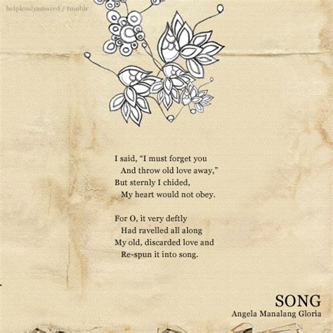 Poems marriage and love