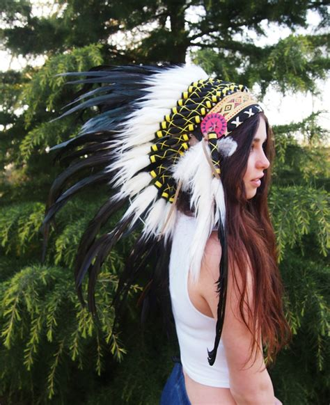 Handmade Indian Headdress - handmade american headdress other