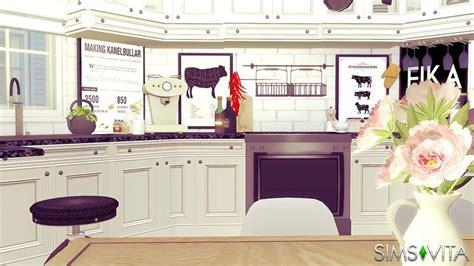 swedish kitchen swedish kitchen living sims vita