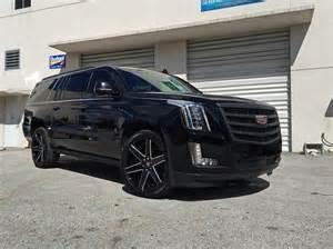 Cadillac Escalade Custom 2015 Cadillac Escalade Verde Custom Wheels In Montclair