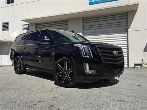 Customized Cadillac Escalade by Cadillac Escalade Custom Wheels Www Pixshark