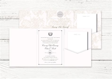 17 Tri Fold Wedding Invitation Templates Free Premium Download Tri Fold Wedding Invitation Templates