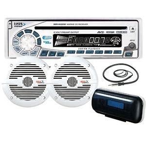boat stereo static kicker marine boat stereo package km625 2 mx350 4 on