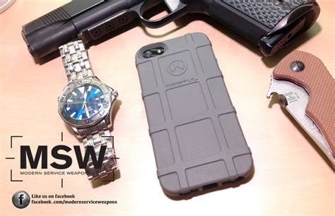 review magpul iphone  field case modern service weapons