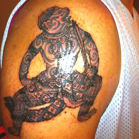 cambodian tribal tattoos my cambodian hanuman khmer tattoos