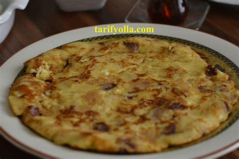 bayat ekmek omleti yemek eli resimli kolay tarifler bayat ekmek omleti cahide