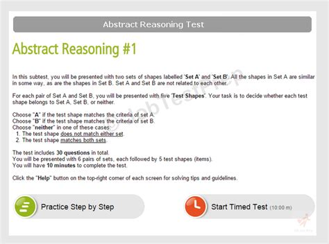 Abstract Reasoning Questions For Mba Cet by Situational Judgement Tests Sle Questions