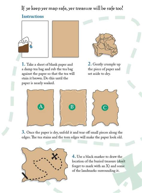 How To Make An Envelope With Paper by Pirates Preschool And Kindergarten Activities Crafts And