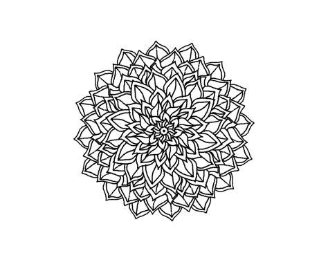 mandala tattoo png henna flower transparent makedes com