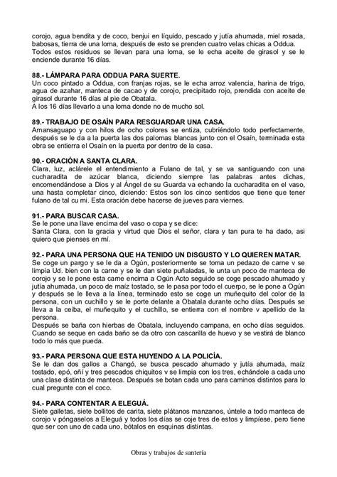 obras y trabajos de santeria a la mexicana obras y trabajos de santeria para defenderse