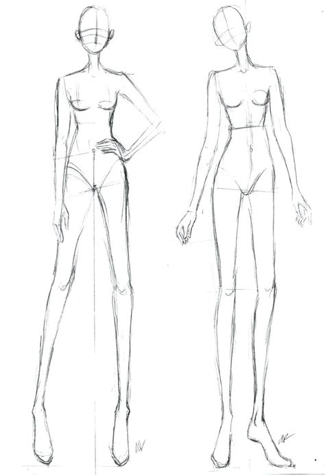 dress form template template dress form template fashion figure front and