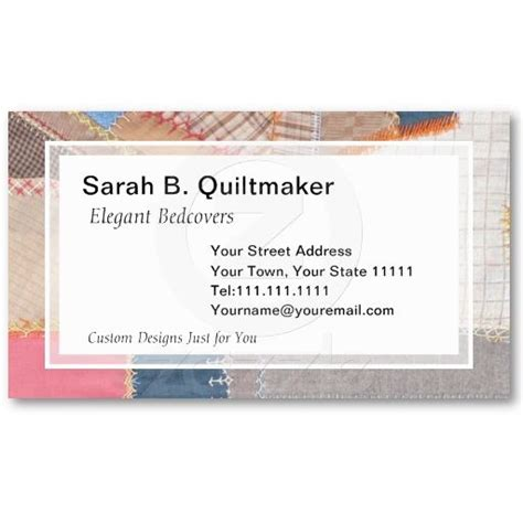 53 Best Quilters Business Cards Images On Pinterest Business Cards Carte De Visite And Quilt Shop Business Plan Template