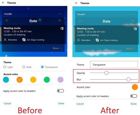 microsoft launcher themes microsoft launcher now lets you adjust theme transparency