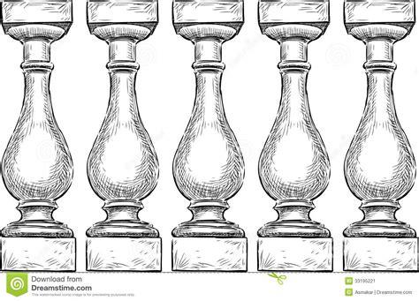 Balustrade Stock Image   Image: 33195221