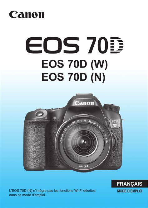 Canon Eos 70d Manuel D Utilisation Pages 468