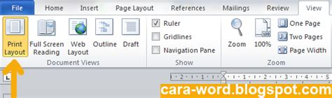 cara membuat kop surat resmi di microsoft word cara membuat kop surat di word cara word