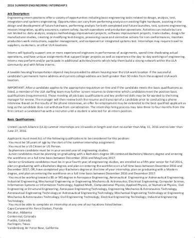 summer intern description summer intern description sle 9 exles in word