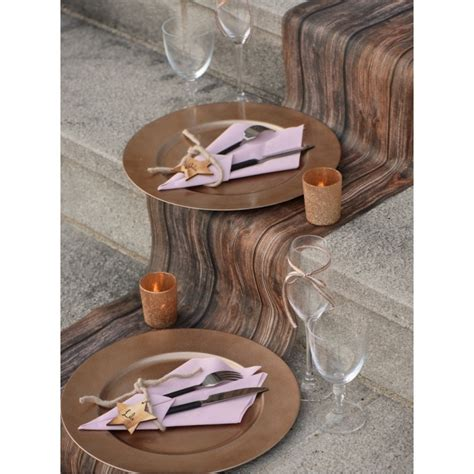 Chemin De Table Bois by Chemin De Table Bois Intiss 233 5 M Chemins De Table De