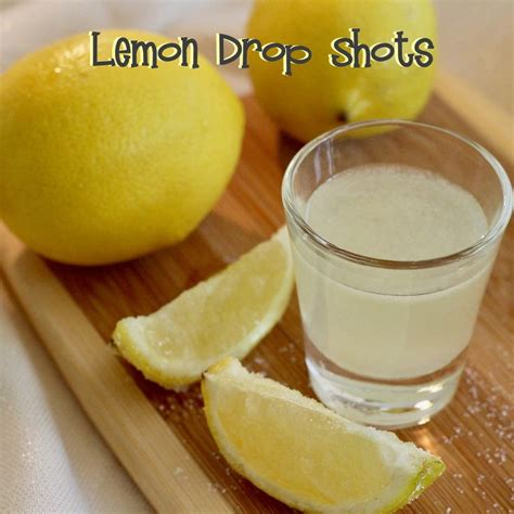lemon drop shots really do taste like the candy fun for parties adult parties that is