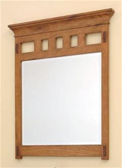 craftsman style bathroom mirrors craftsman style bathroom mirror wood finish to add warmth