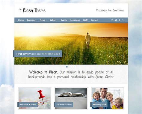 theme wordpress free church 9 great church wordpress themes web graphic design