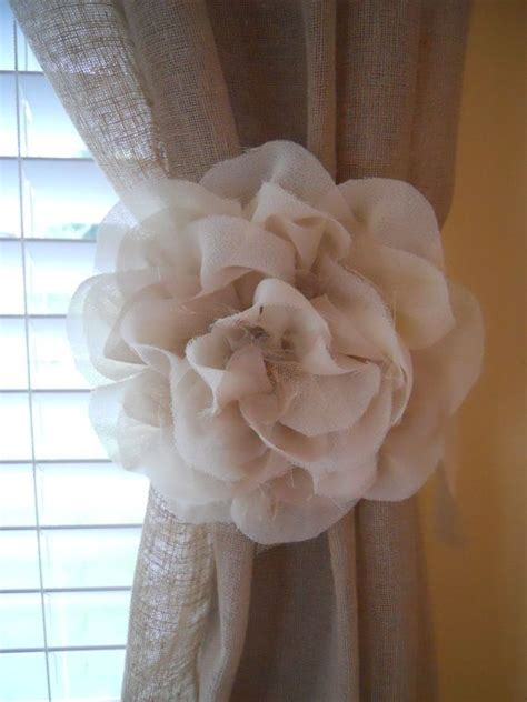 how to make flower curtain tie backs pinterest discover and save creative ideas