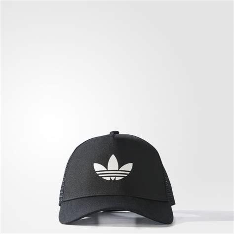 Topi Trucker Adidas 14 adidas trefoil trucker hat black adidas uk