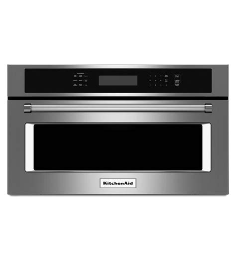 """30"""" Built In Microwave Oven with Convection Cooking (KMBP100ESS Stainless Steel)"""