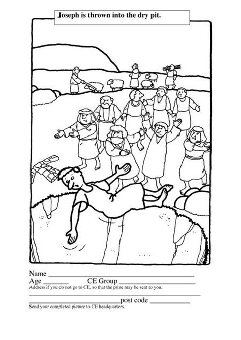 free bible coloring pages joseph in bible coloring pages for joseph genesis joseph for
