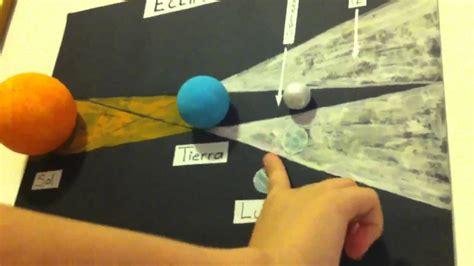como hacer una maqueta del ecplise solar y lunar como hacer una maqueta de eclipse solar eclipse de luna