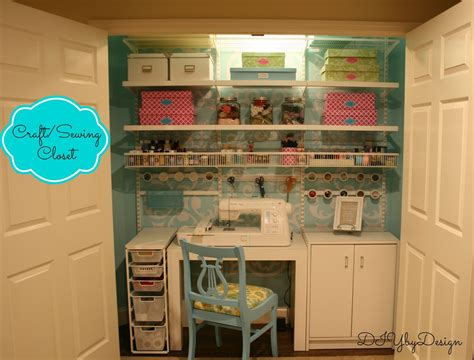 sewing room diy by design craft sewing closet reveal
