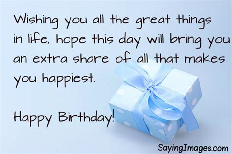 Happy Birthday Wish For Birthday Wishes Messages Sayingimages Com