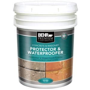 behr premium 5 gal protector and waterproofer 98005 the