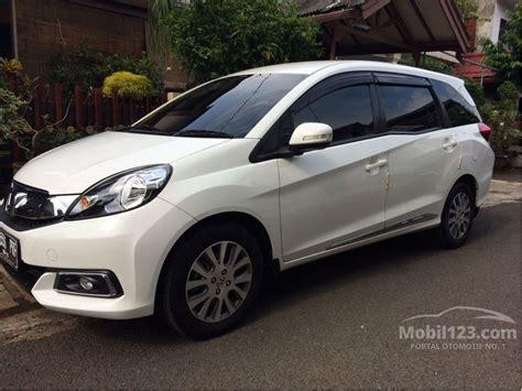 Honda Mobilio 1 5 E jual mobil honda mobilio 2014 e prestige 1 5 di dki