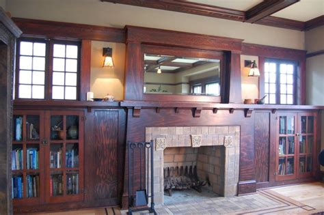craftsman style fireplaces craftsman fireplace craftsman living room portland by craftsman design and renovation