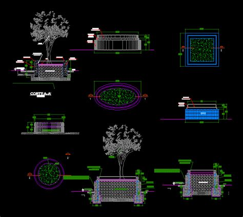 details planters in autocad download cad free 61121 kb